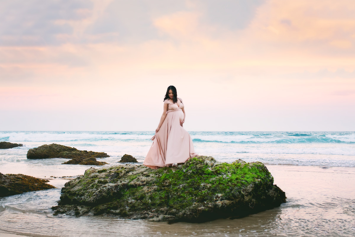 beach maternity images